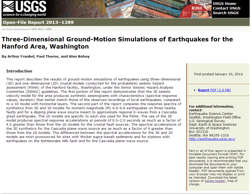 Three-dimensional ground-motion simulations of earthquakes