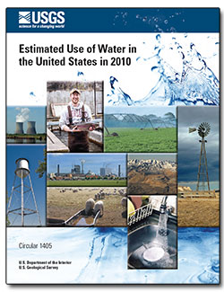 Estimated use of water in the United States in 2010