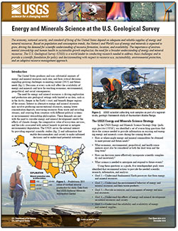 Energy and Minerals Science at the U.S. Geological Survey