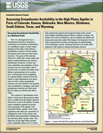 Assessing Groundwater Availability in the High Plains Aquifer in Parts of Colorado, Kansas, Nebraska, New Mexico, Oklahoma, South Dakota, Texas, and Wyoming