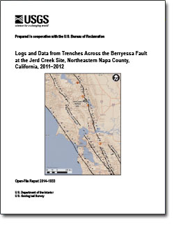 Logs and data from trenches across the Berryessa Fault at the Jerd Creek site, northeastern Napa County, California, 2011-2012