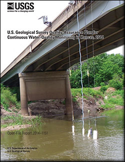 U.S. Geological Survey quality-assurance plan for continuous water-quality monitoring in Kansas, 2014