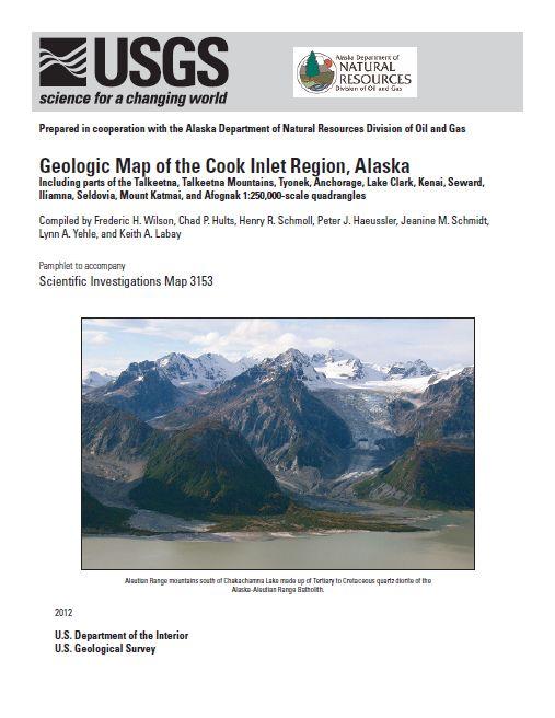 Geologic map of the Cook Inlet region, Alaska, including ...
