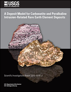 A deposit model for carbonatite and peralkaline intrusion-related rare earth element deposits: Chapter J in Mineral deposit models for resource assessment
