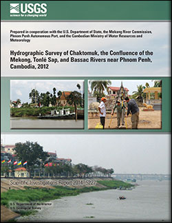 Hydrographic survey of Chaktomuk, the confluence of the Mekong, Tonlé Sap, and Bassac Rivers near Phnom Penh, Cambodia, 2012