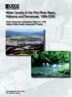 Water quality of the Flint River basin, Alabama and Tennessee, 1999-2000