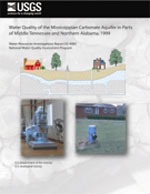 Water quality of the Mississippian carbonate aquifer in parts of middle Tennessee and northern Alabama, 1999